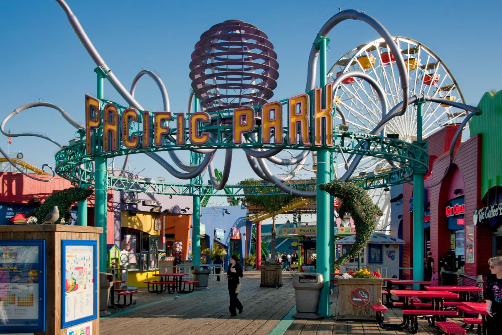 Close To Santa Monica Pier- Pacific Park at Sea Castle, Santa Monica, 90401