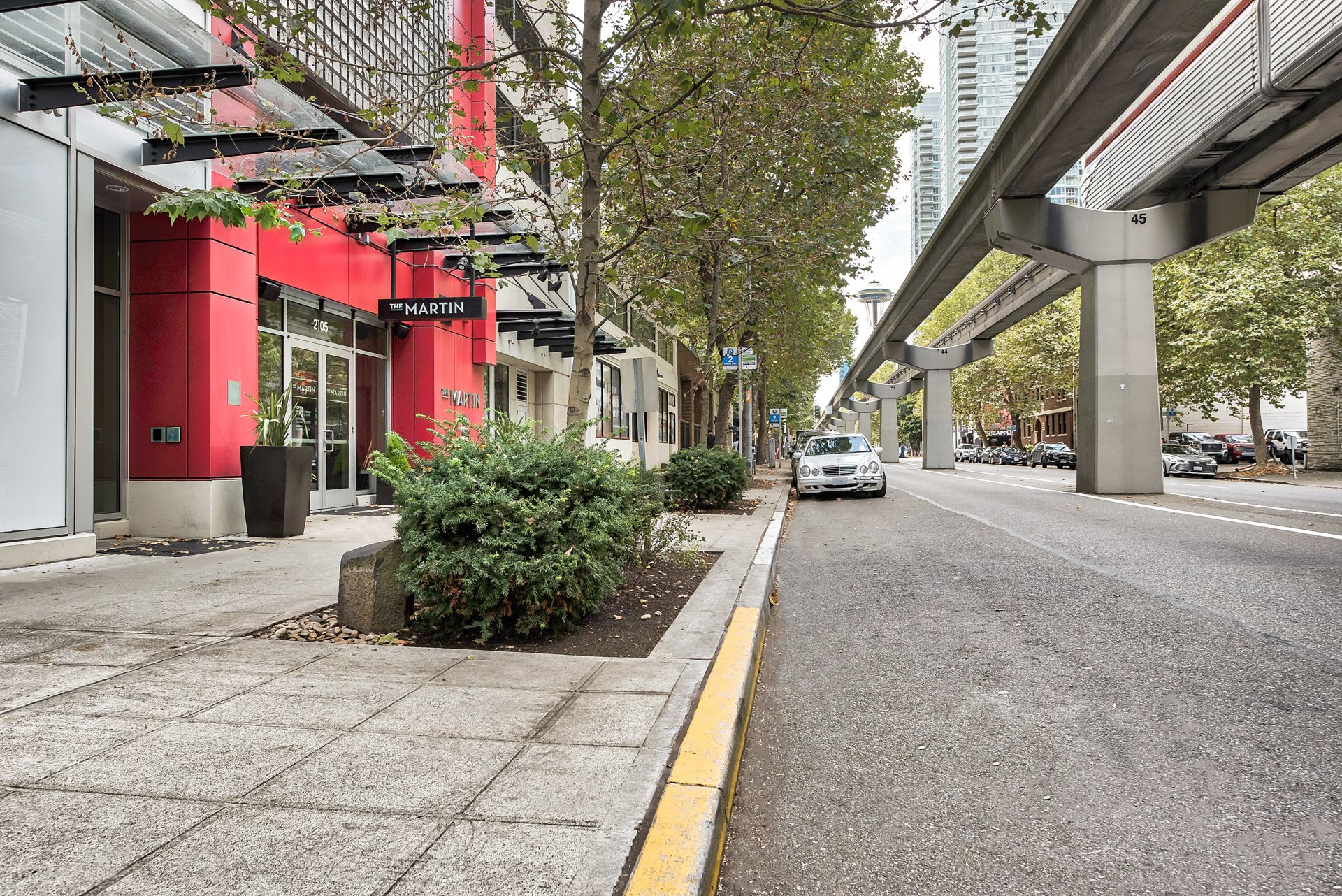 Convenient Property Location at The Martin, Seattle, Washington