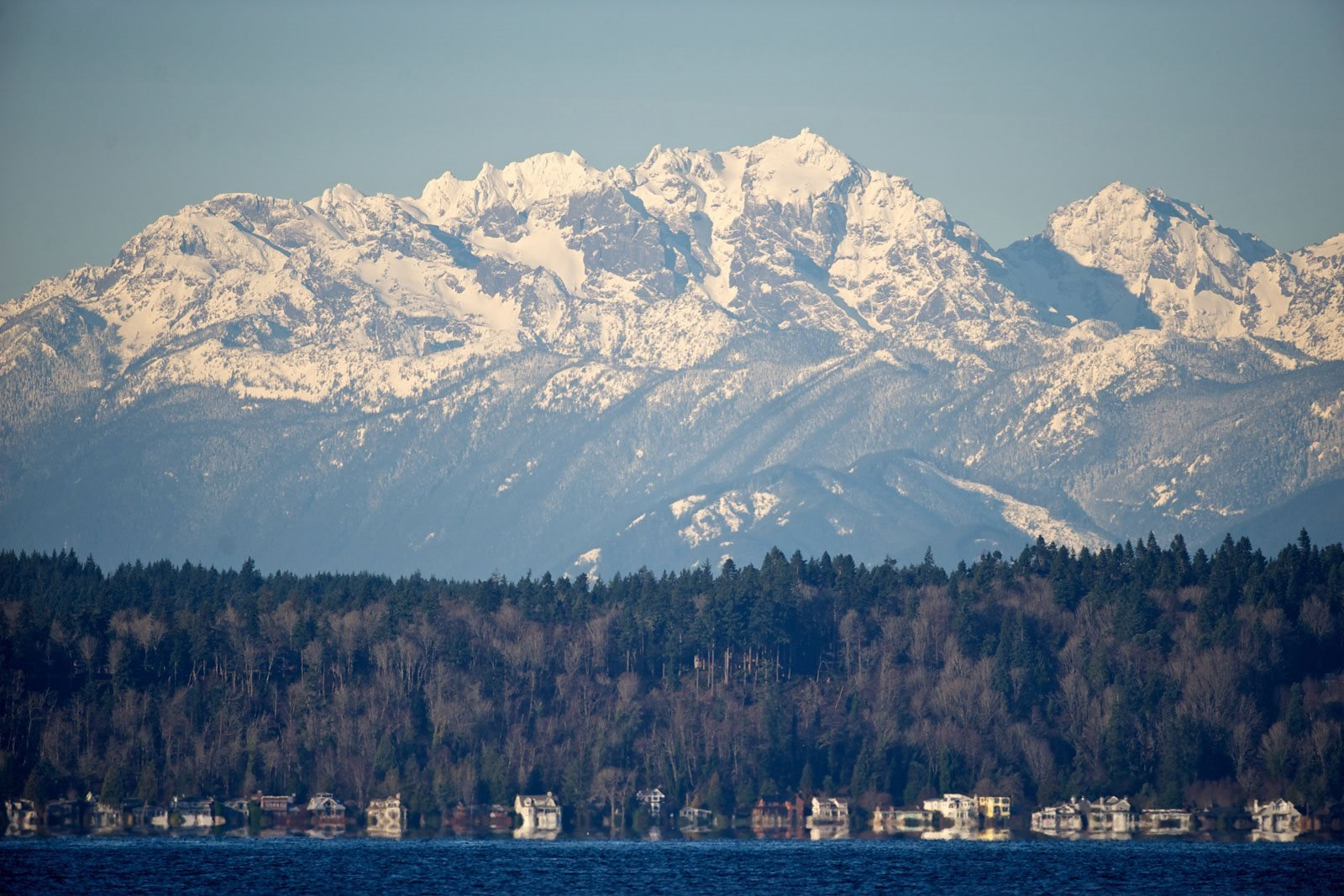 Nearby Olympic Mountains at The Whittaker, Seattle, WA