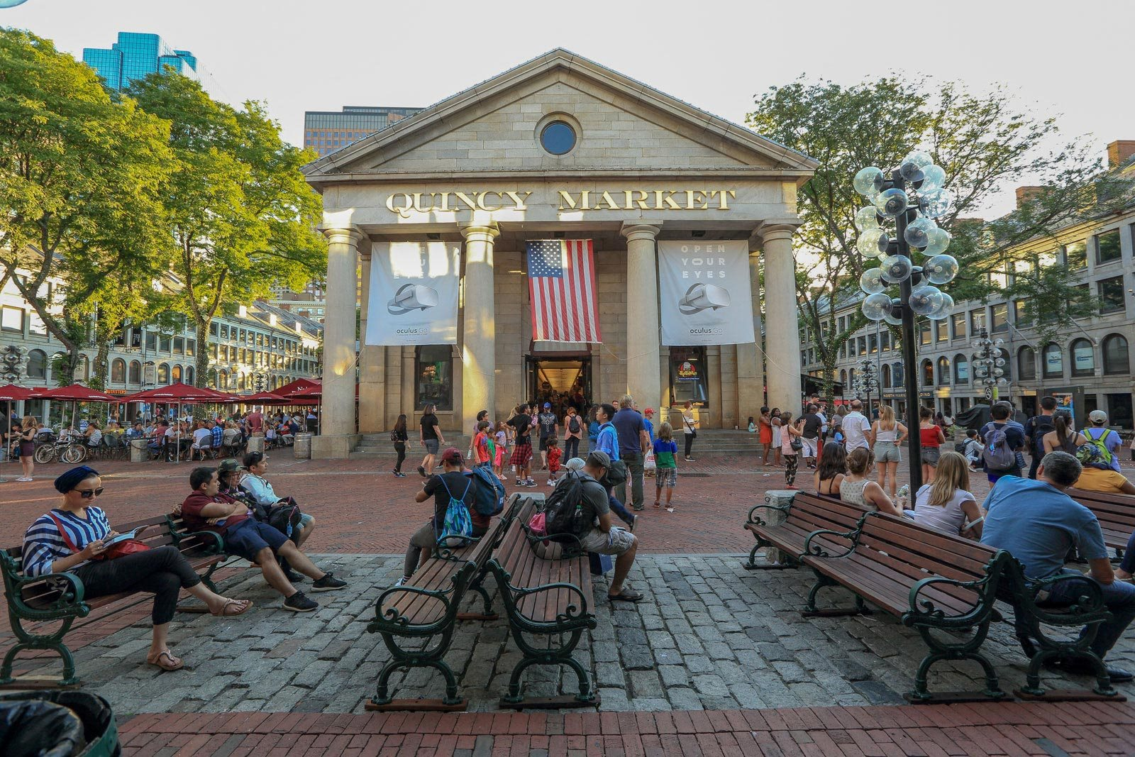 Half Mile to Quincy Market from The Victor by Windsor, Massachusetts, 02114