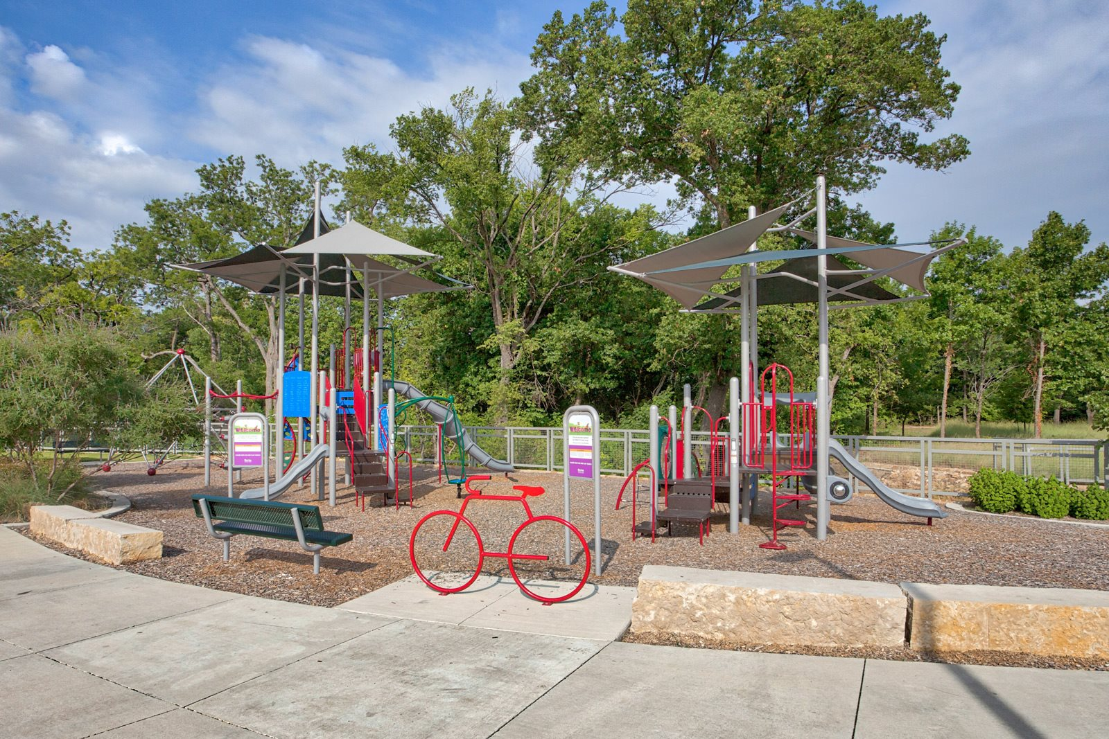 Amazing Outdoor Playground at CityLine Park Windsor, Texas, 75082