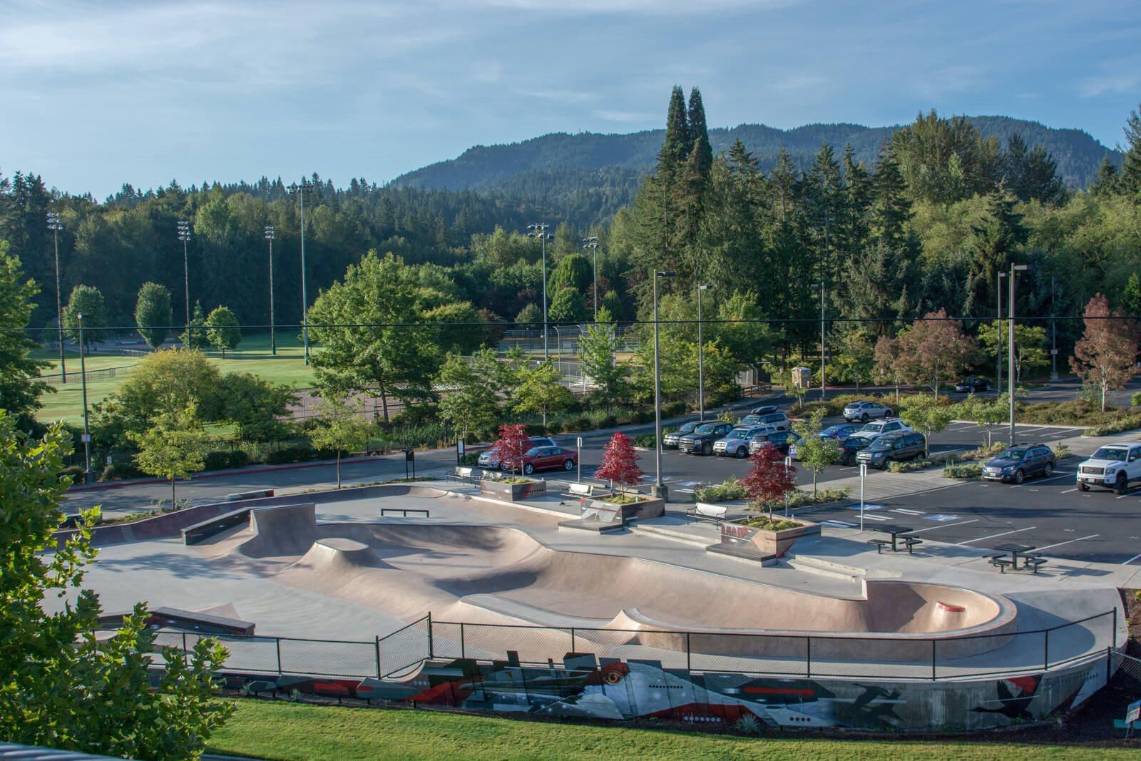 Skate Park Close By at The Estates at Cougar Mountain, 2128 Shy Bear Way NW, Issaquah