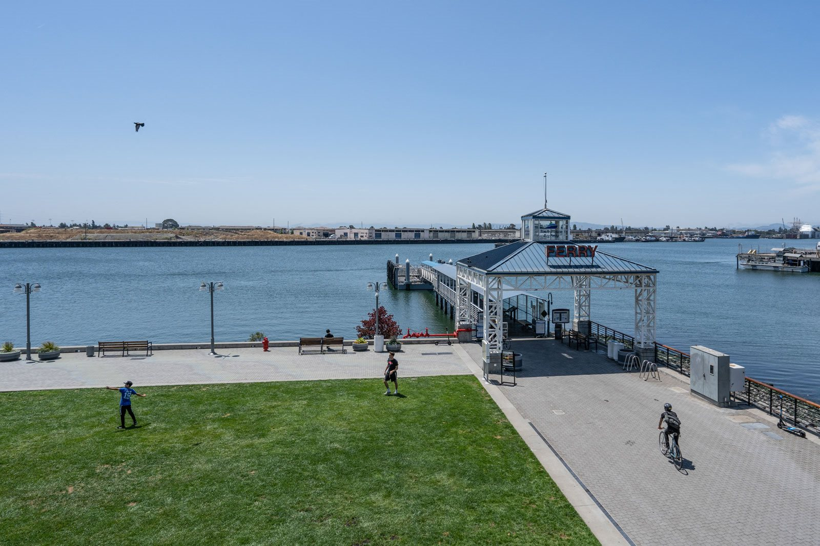 Ferry to San Francisco is Blocks Away from Allegro at Jack London Square, Oakland, CA