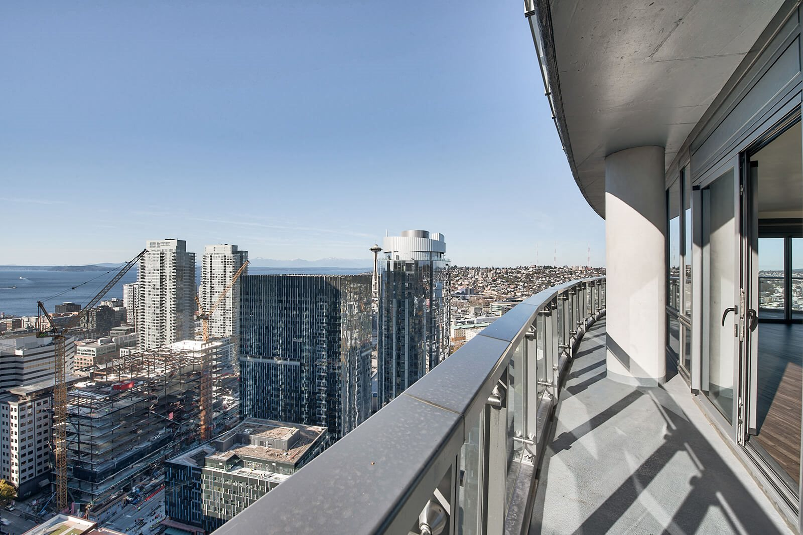 Epic Views from Penthouse at Stratus, Seattle, Washington