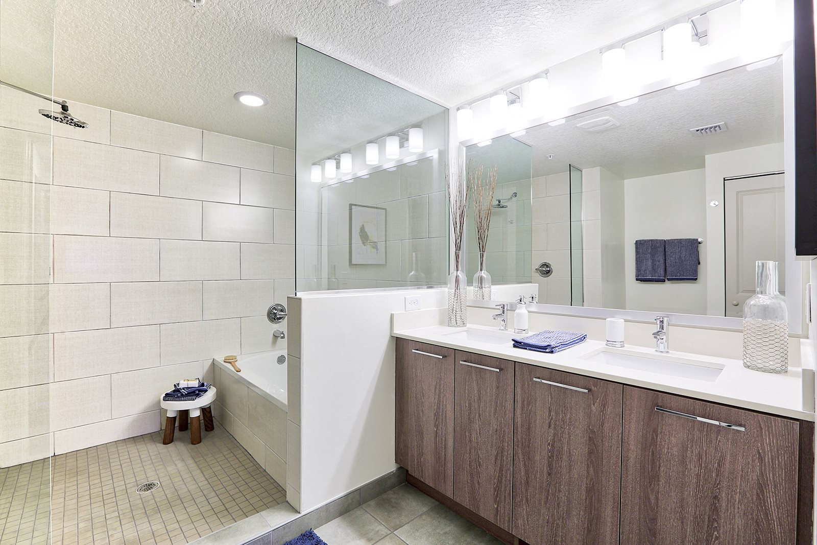 Custom Vanity Lighting at Windsor at Delray Beach, Delray Beach, Florida