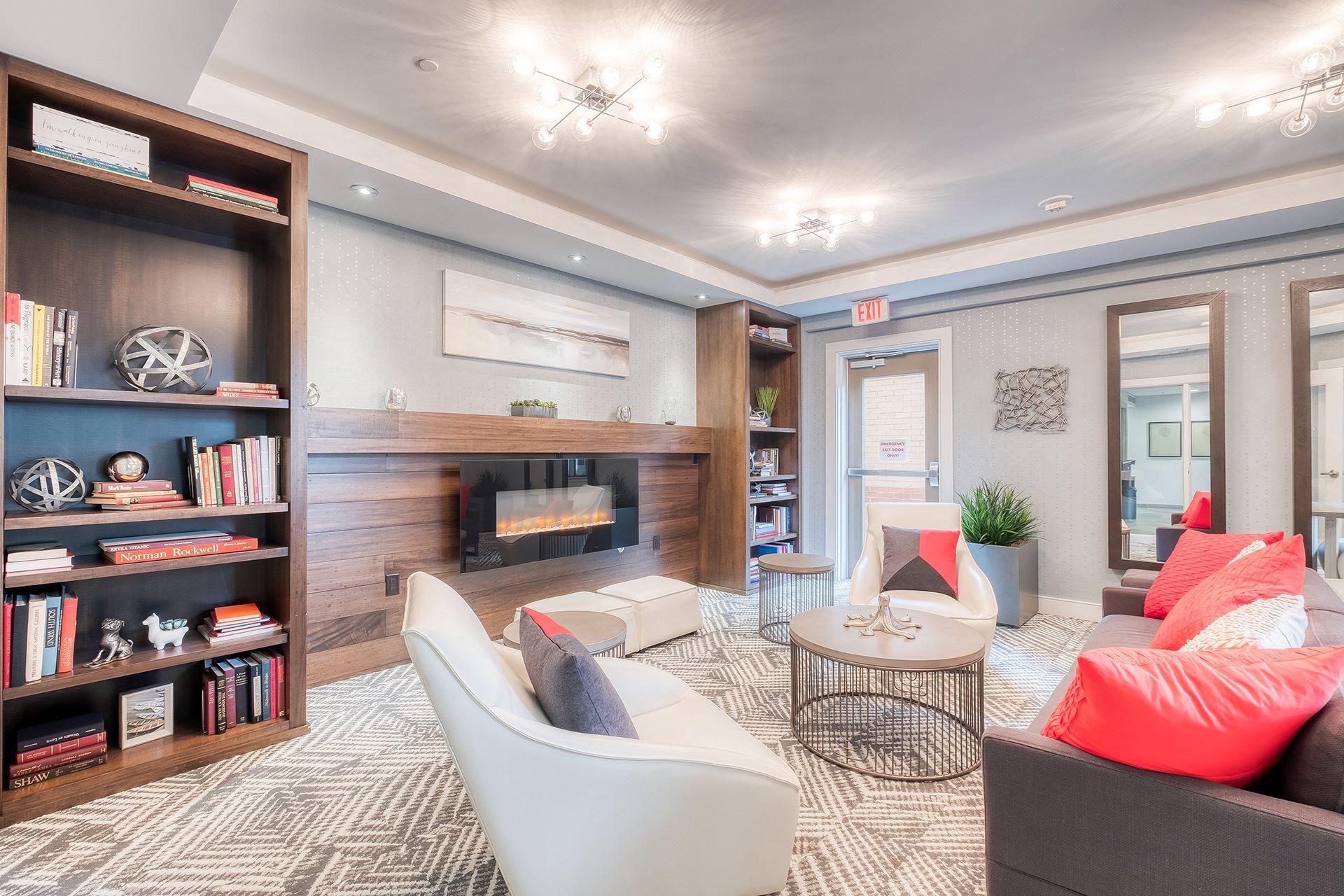 Resident Lounge at Twenty50 by Windsor, Fort Lee, 07024
