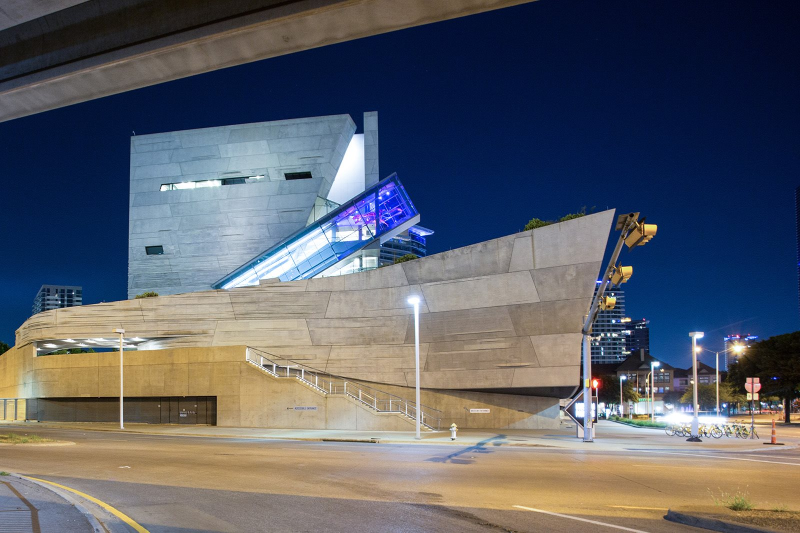 Perot Museum of Nature and Science near Trianon by Windsor, 2820 McKinnon Street, TX