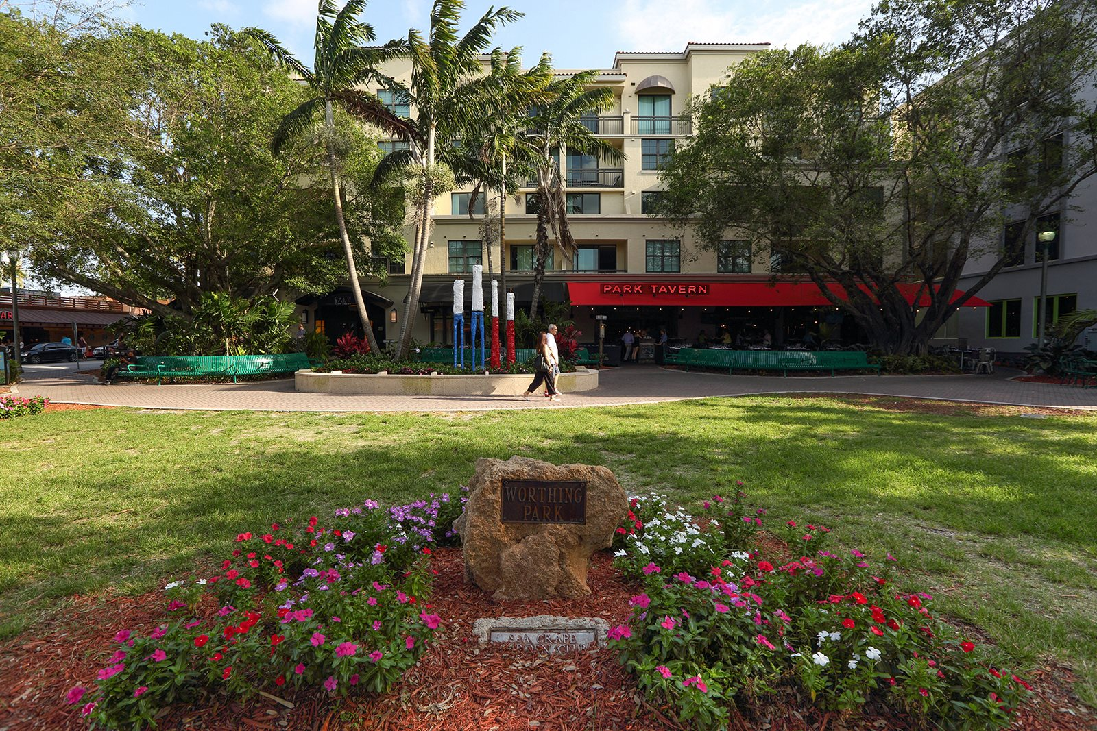 Dine out in Downtown Delray Beach - only a few minutes drive away at Windsor at Delray Beach, Delray Beach,Florida