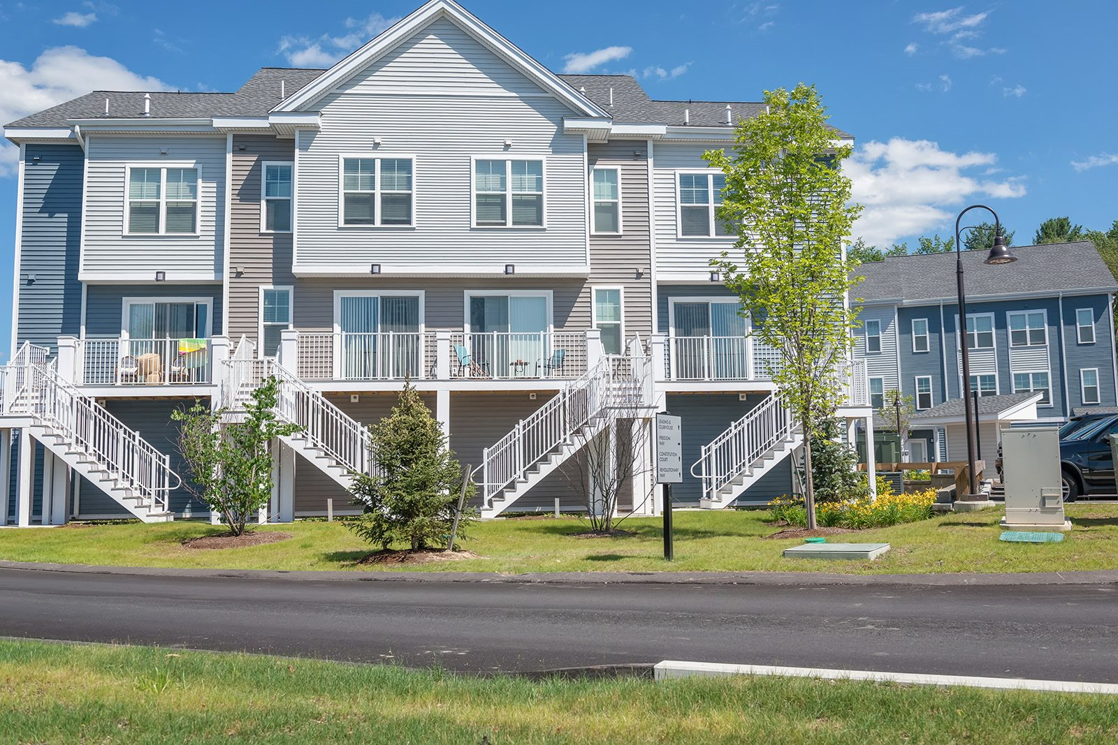 Apartment Community Grounds at Hopkinton by Windsor, Massachusetts
