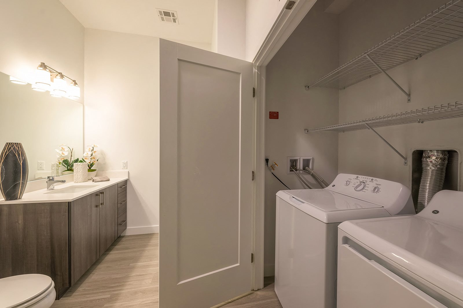 In-home washer and dryer at Hopkinton by Windsor, MA, 01748