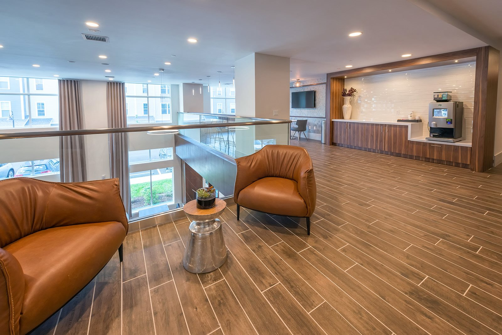 Hospitality Station with Coffee at Hopkinton by Windsor, 5 Constitution Ct