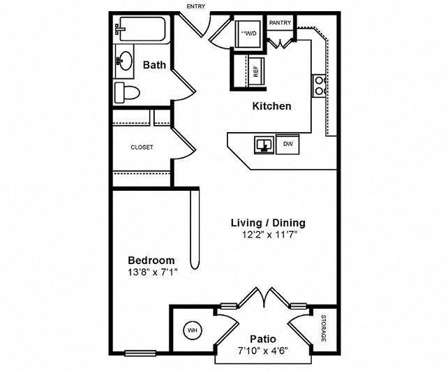 M_Messina Floor Plan at Windsor at Midtown, Aurora, CO