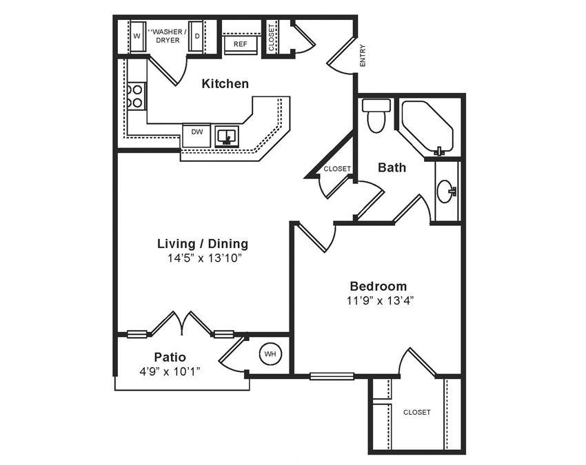 Midtown_Siena(2) Floor Plan at Windsor at Midtown, CO, 80014