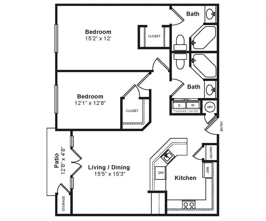 Midtown_Torino Floor Plans at Windsor at Midtown, Aurora, Colorado