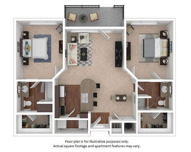The District | Studio, 1 & 2 Bedroom Apartments | Floor Plans