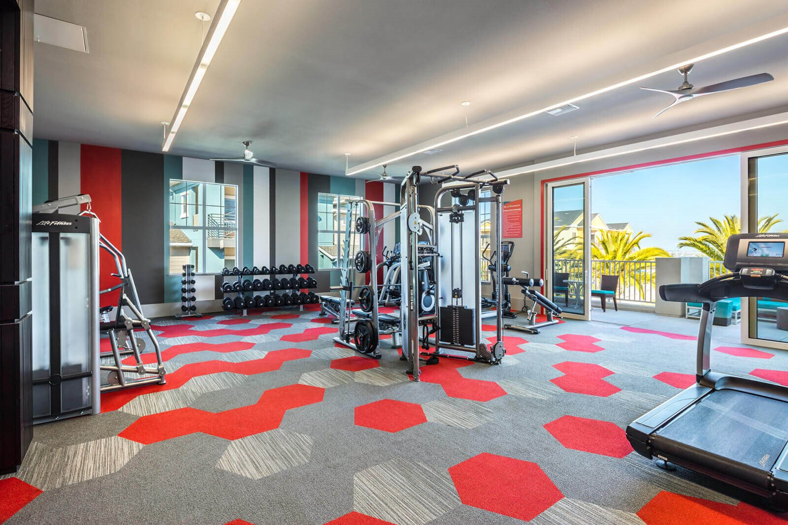 State-of-the-art Fitness Center at Blu Harbor by Windsor, 1 Blu Harbor Blvd, CA