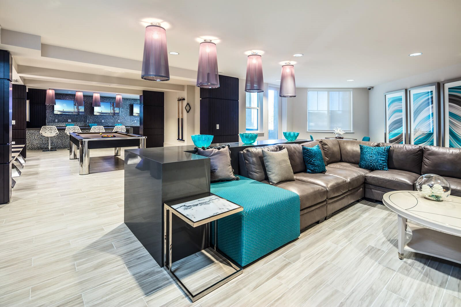 Clubhouse with Social Lounge at Blu Harbor by Windsor, California, 94063
