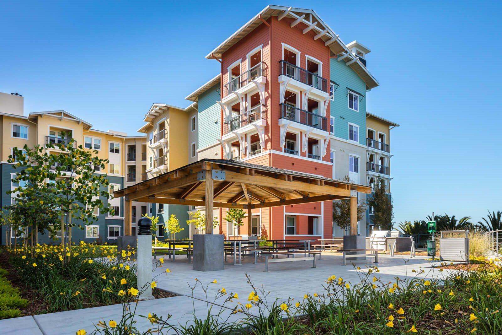 Outdoor Gazebo at Blu Harbor by Windsor, Redwood City, California