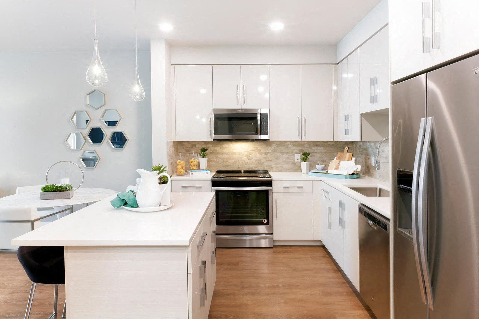 Fully Equipped Kitchen at Blu Harbor by Windsor, California, 94063
