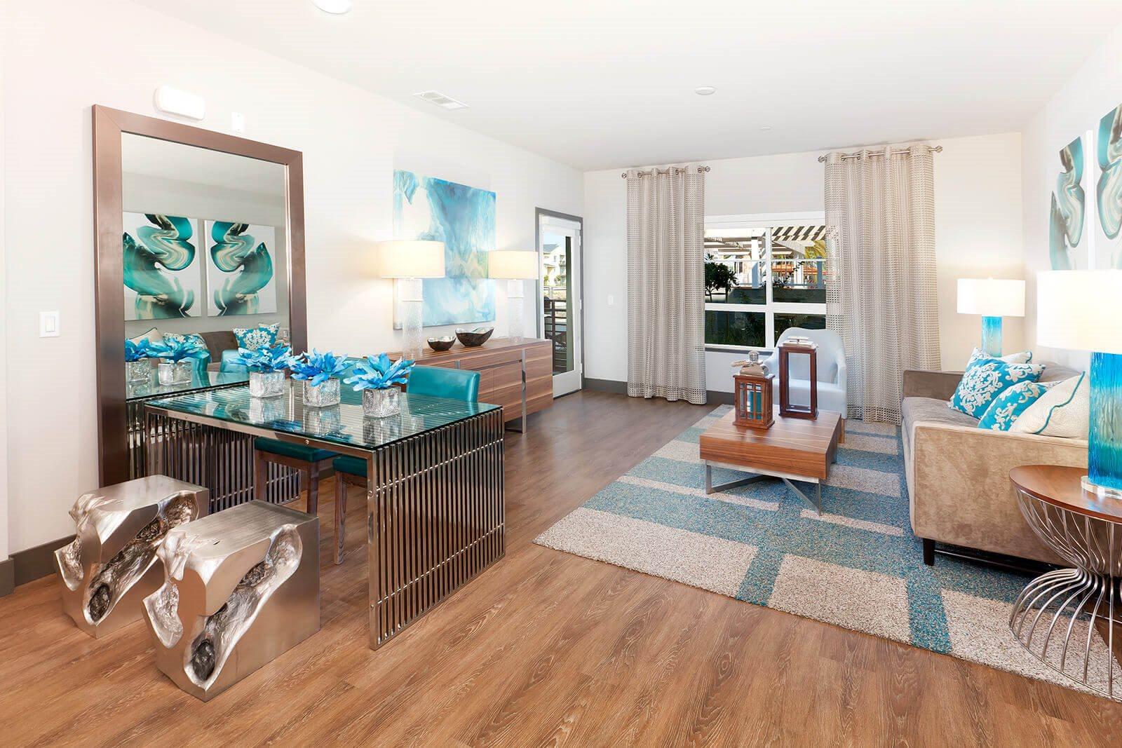 Wood Style Flooring at Blu Harbor by Windsor, CA, 94063