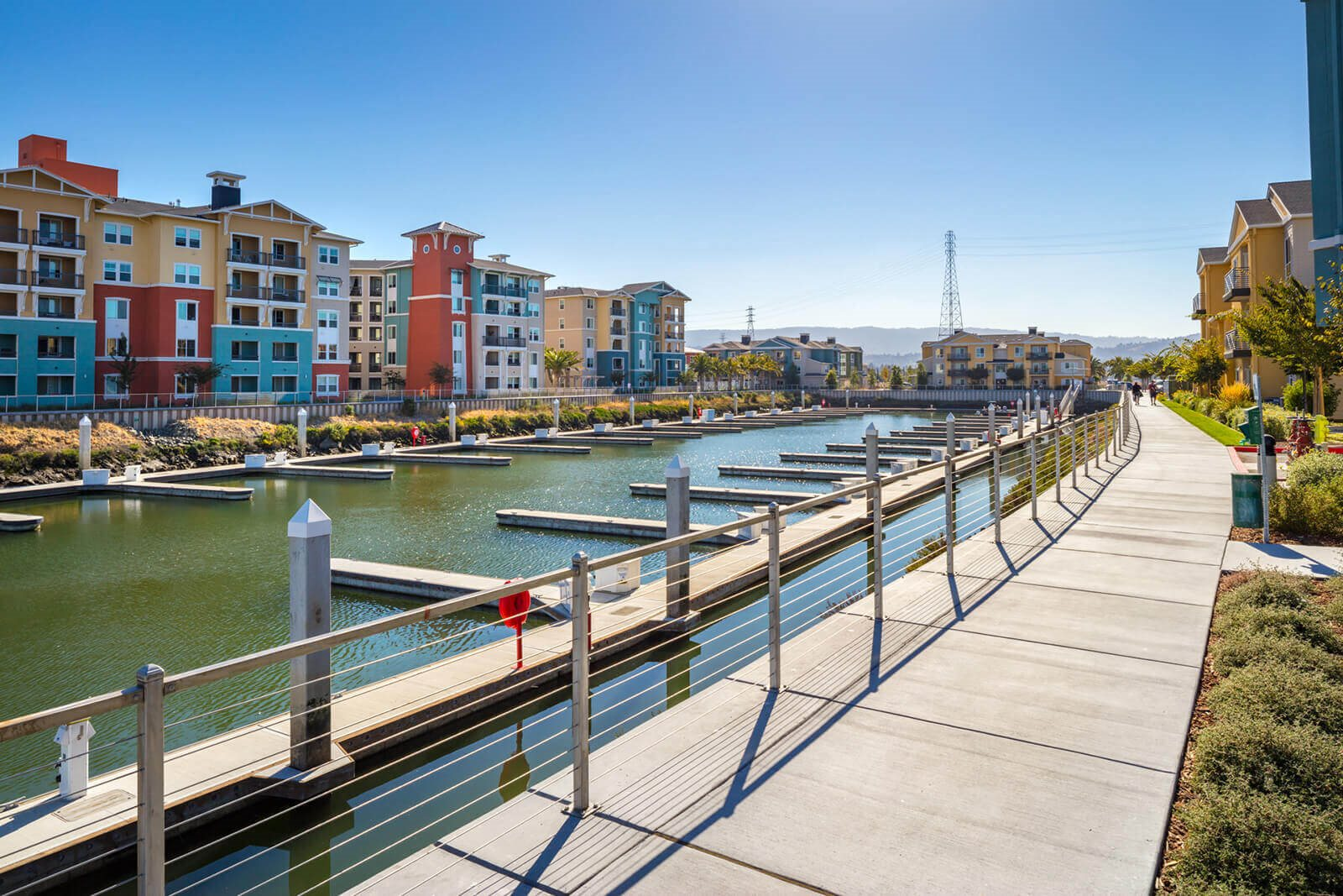 Large Community Area at Blu Harbor by Windsor, Redwood City, CA