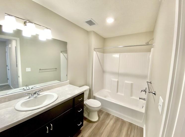 Bathroom Mirror Sink Shower Victory Village