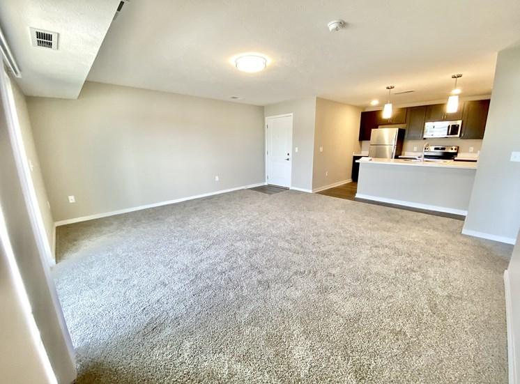 Victory Village Apartment Living Room Carpet