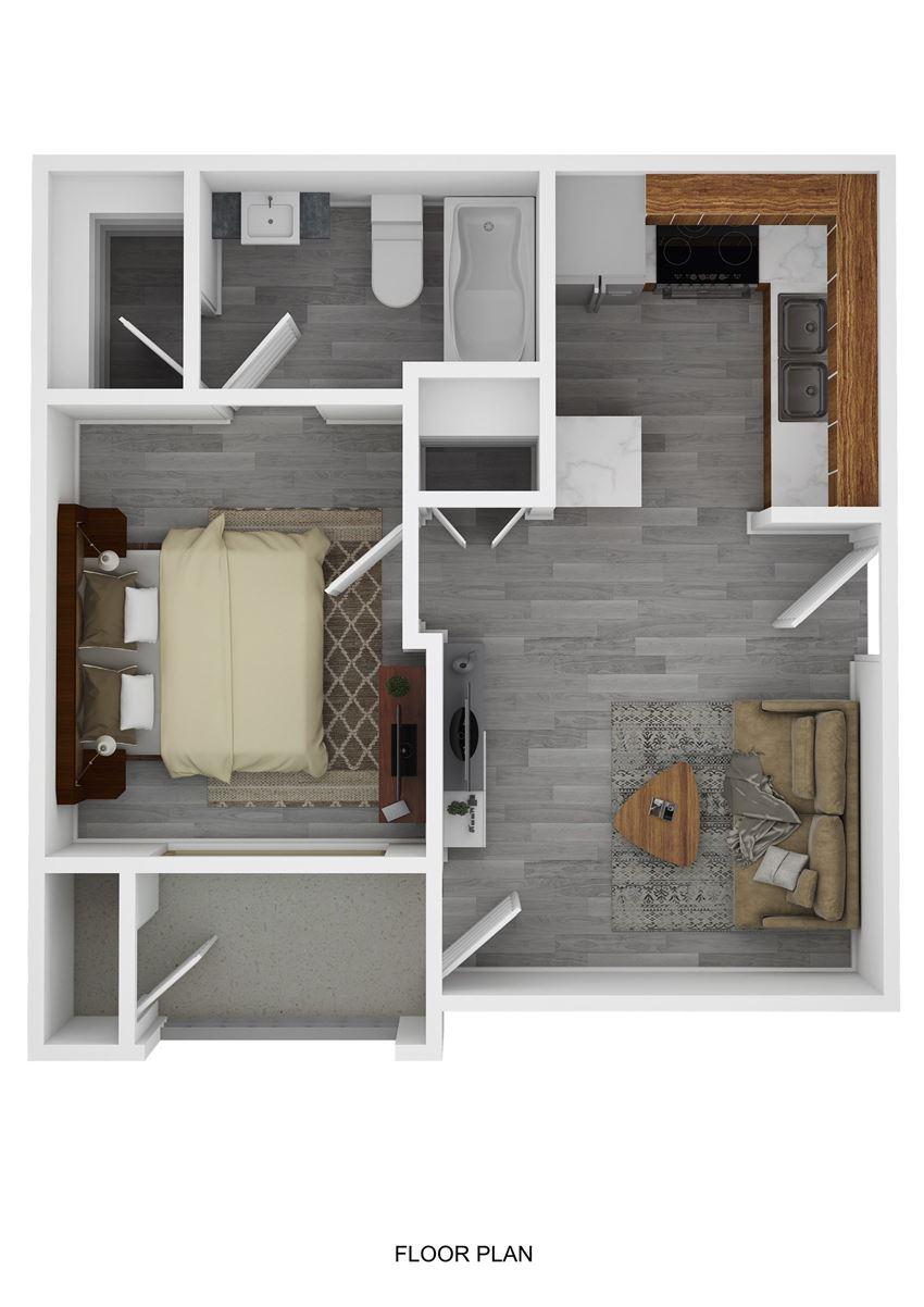 Sam Houston Floor Plan at Ranch 123, Seguin