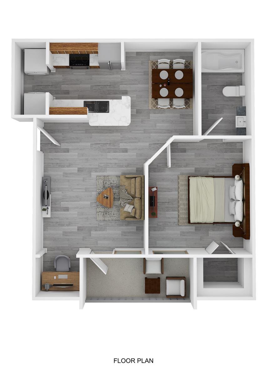 Stephen Austin Floor Plan at Ranch 123, Seguin, TX, 78155