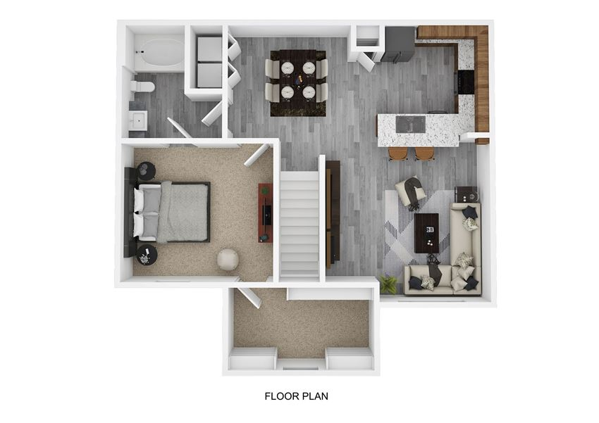 A4 Floor Plan at The Emerson, Pflugerville
