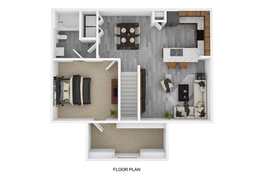 A5 Floor Plan at The Emerson, Texas