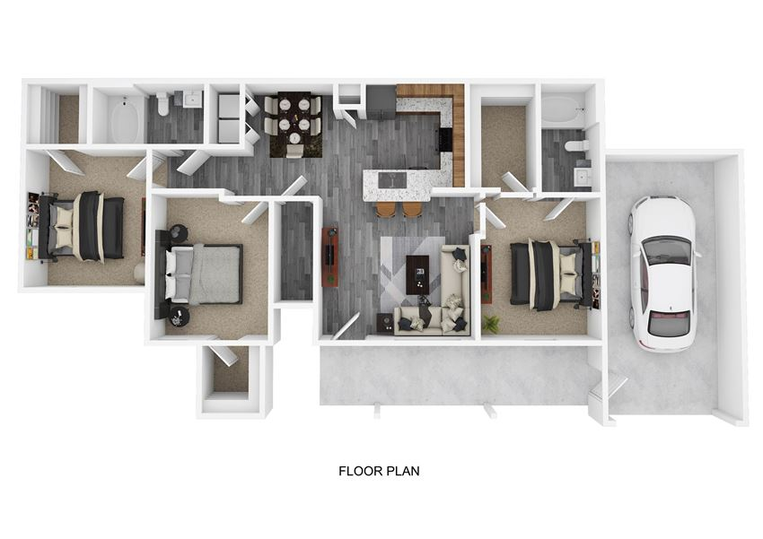 C1G Floor Plan at The Emerson, Texas, 78660