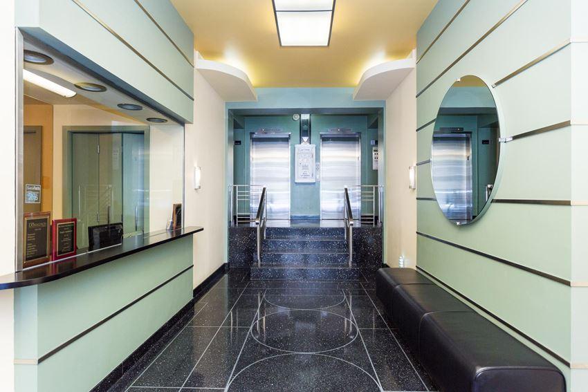 Empire Apartments Elevator Lobby Washington DC