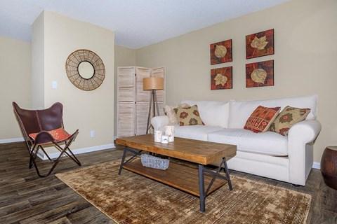 Modern Living Room at Forest Ridge on Terrell Mill, Georgia, 30067
