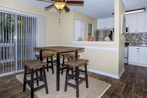 Dining Room and Kitchen View at Forest Ridge on Terrell Mill, Marietta, GA