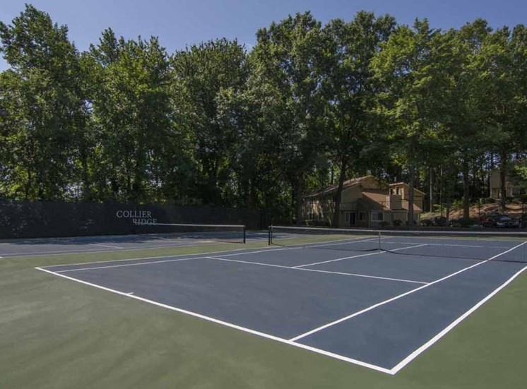 Lighted Tennis Court at Collier Ridge, Atlanta, 30327