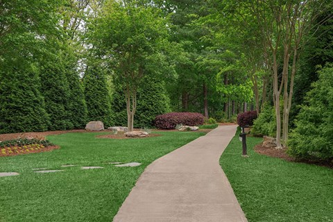 Walking Pathway east