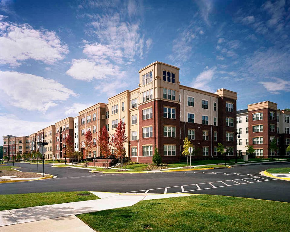 Building View at Century Summerfield, Maryland