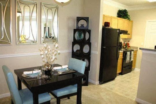 Energy Efficient Black Appliances at Edgewater Vista in Decatur, GA