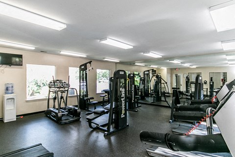 Waterford Apartments fitness center