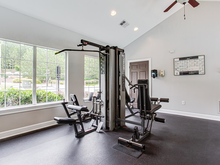 Brodick Hills fitness center weight center