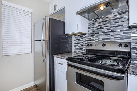 Kitchen Interior Stove backsplash