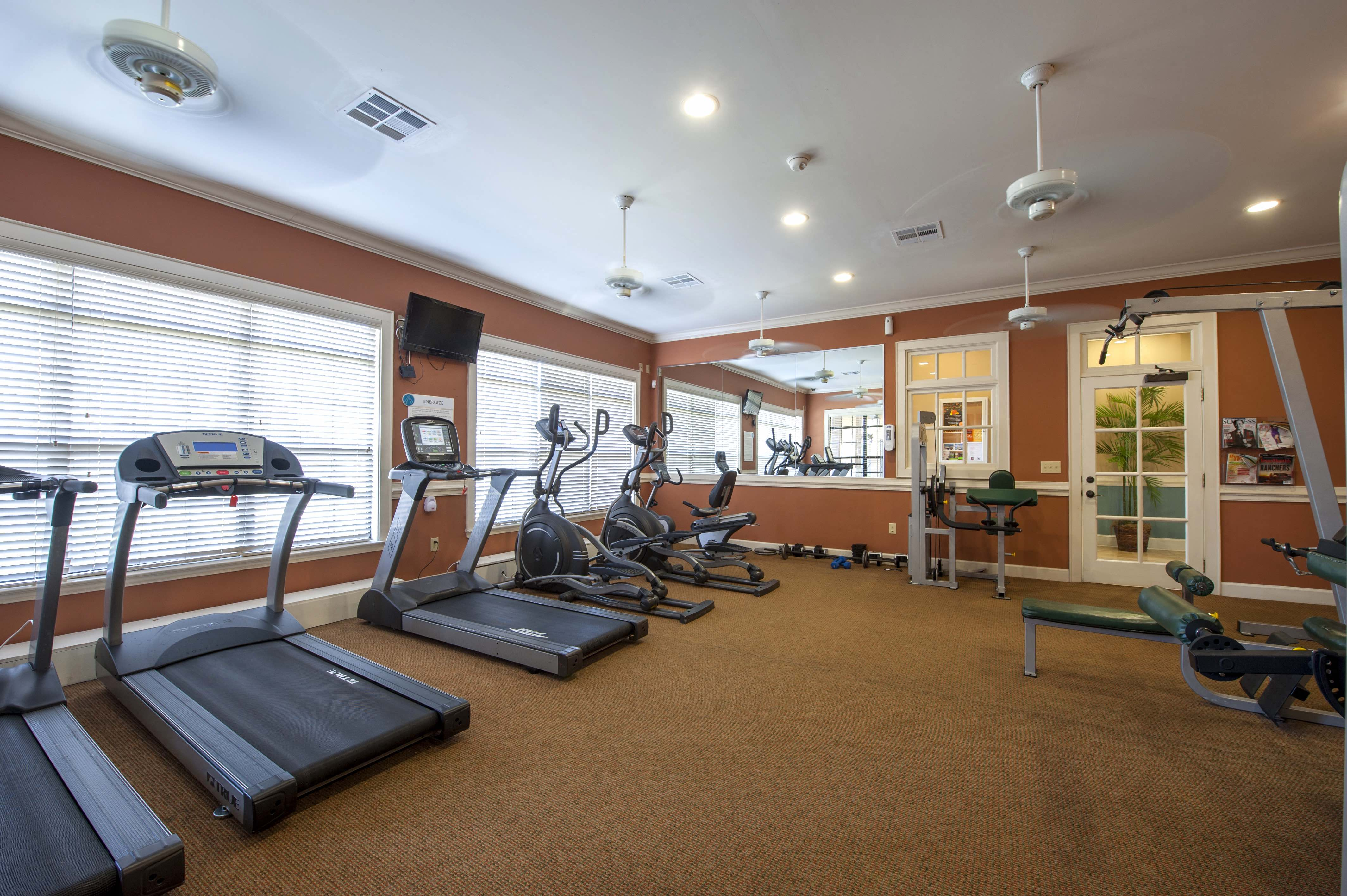 Fitness Center With Modern Equipment at Century South Shore, League City, 77573
