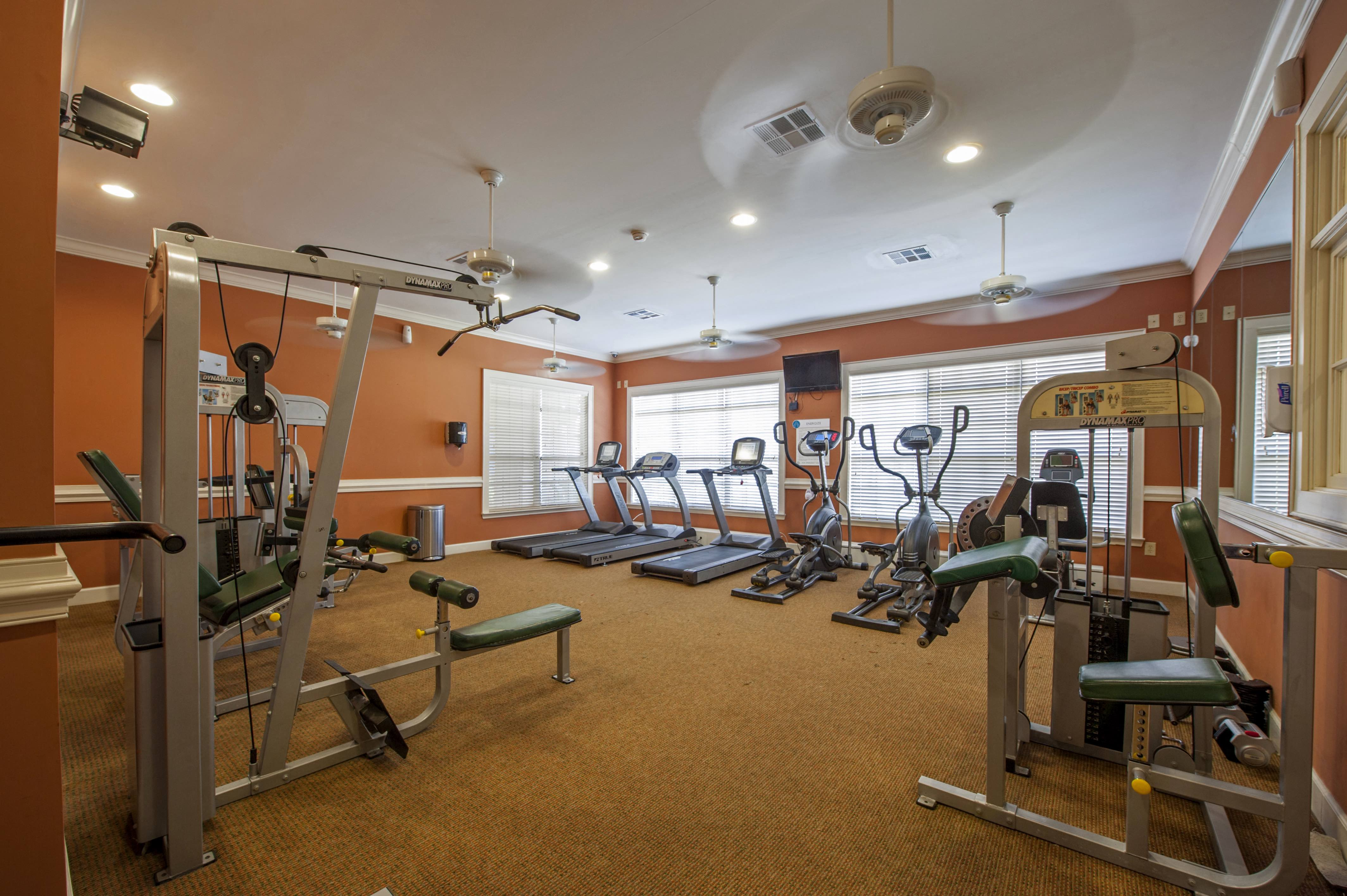 Fitness Center With Updated Equipment at Century South Shore, League City, Texas