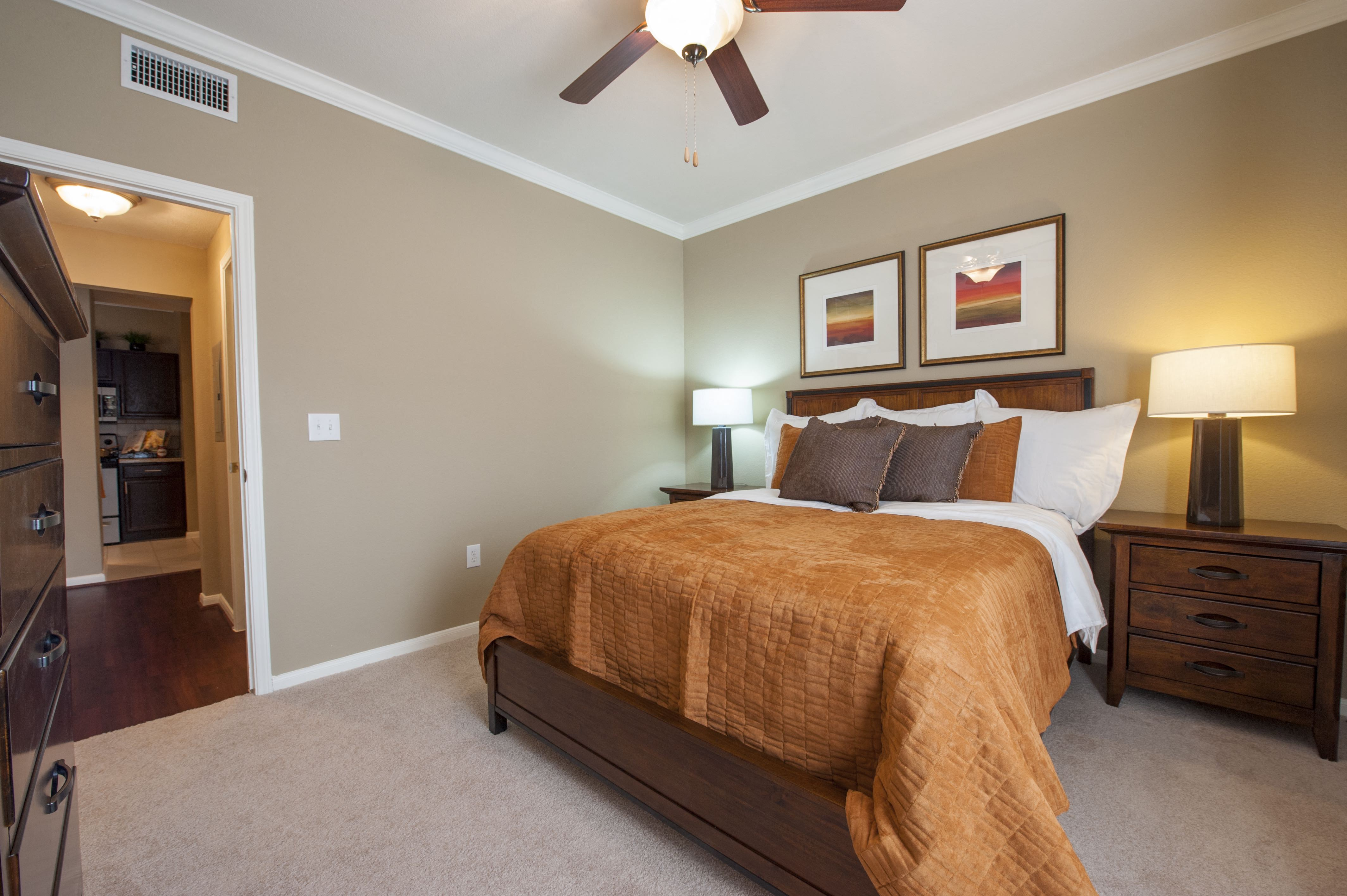 Comfortable Bedroom With Accessible Closet at Century South Shore, Texas, 77573