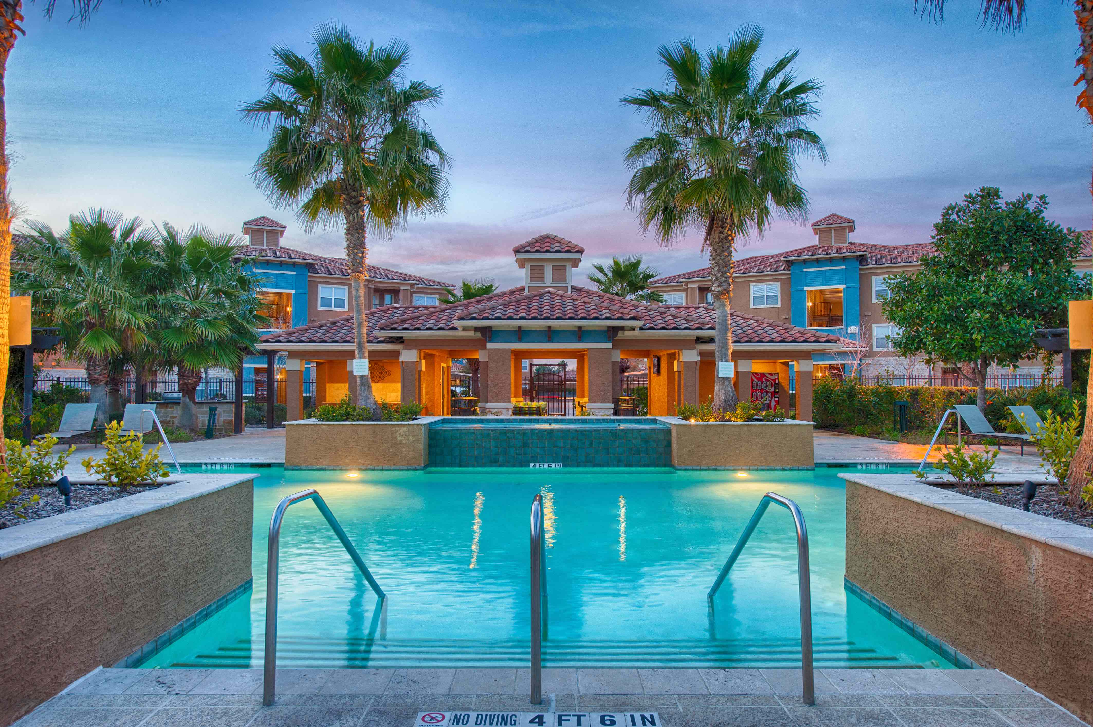 Front Pool View at Century South Shore, League City, Texas