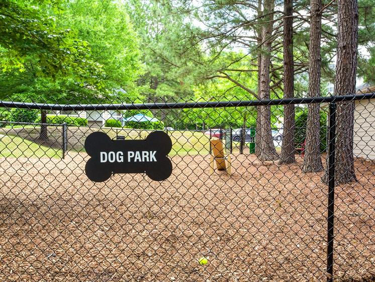 Brodick Hills dog park amenity