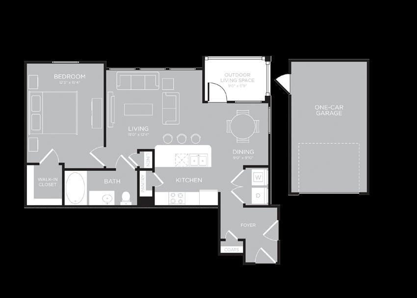 MELBOURNE Floor Plan at Century Travesia, Texas