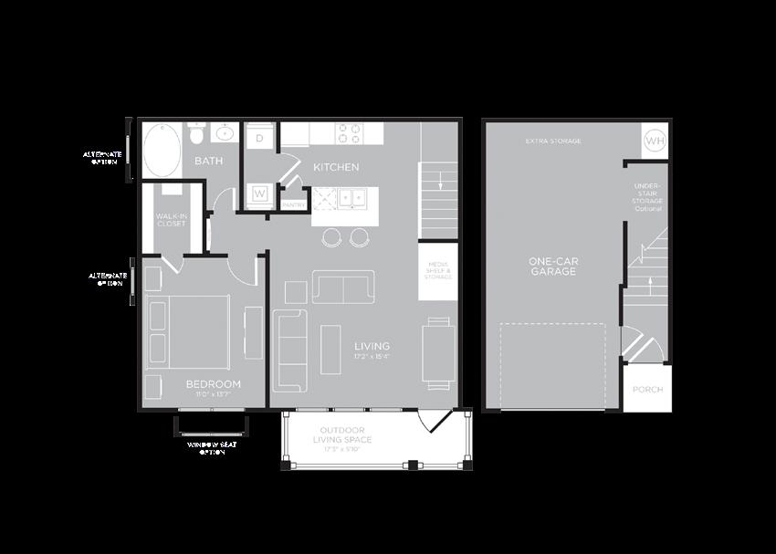 MONTREAL Floor Plan at Century Travesia, Austin
