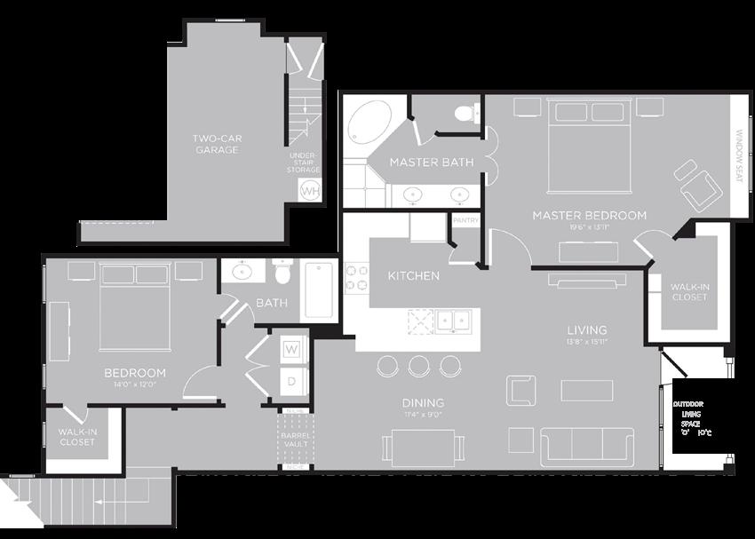 RIO Floor Plan at Century Travesia, Austin, Texas